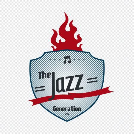 jazz label Stock Vector - 21157435