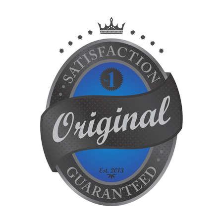original blue label Vector