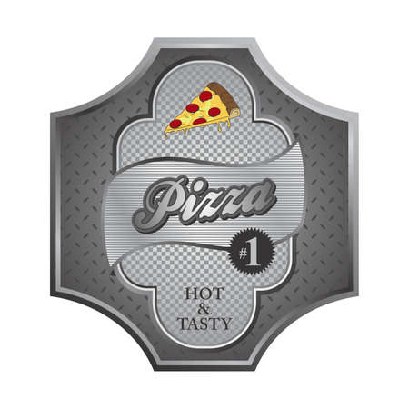 pizza steel Vector