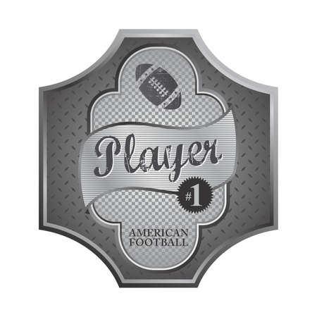 football play plate Stock Vector - 21147841