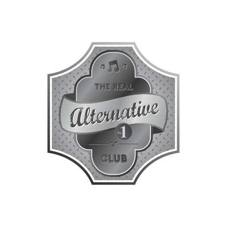 alternative label Stock Vector - 22221864