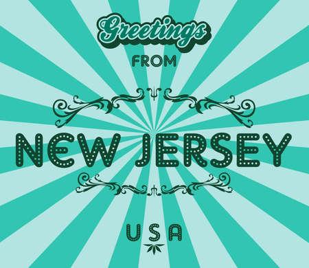 ニュージャージーの挨拶