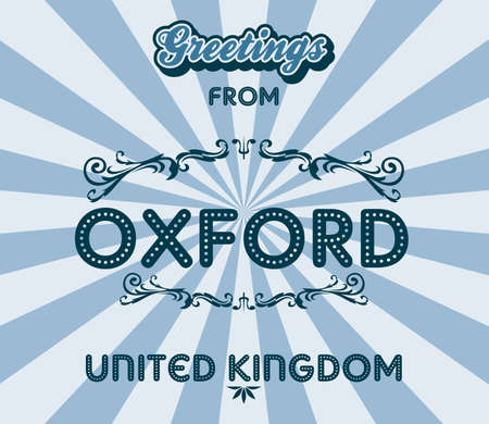 oxford: oxford greeting