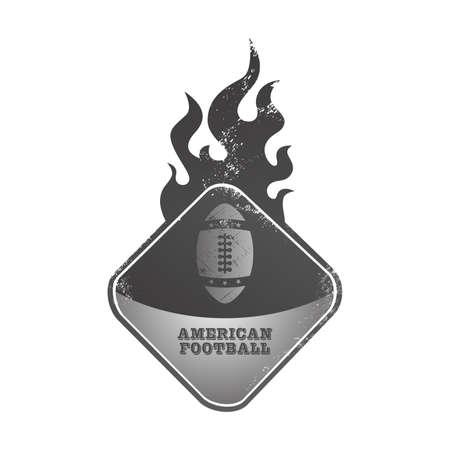football fire button Vector