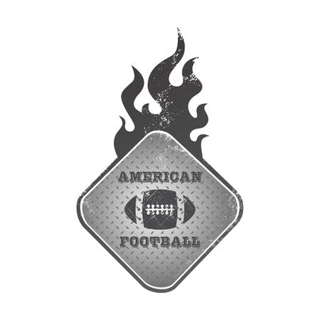 football fire button Vector