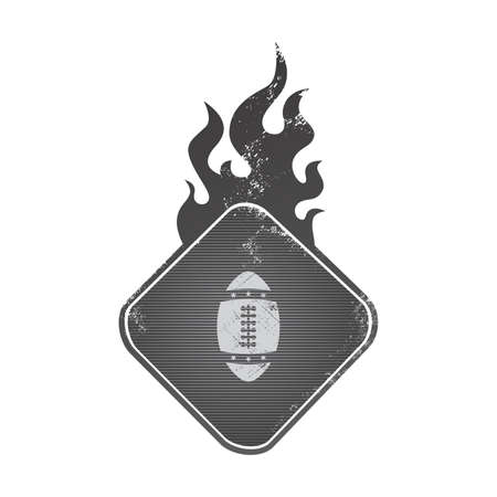 football fire Vector