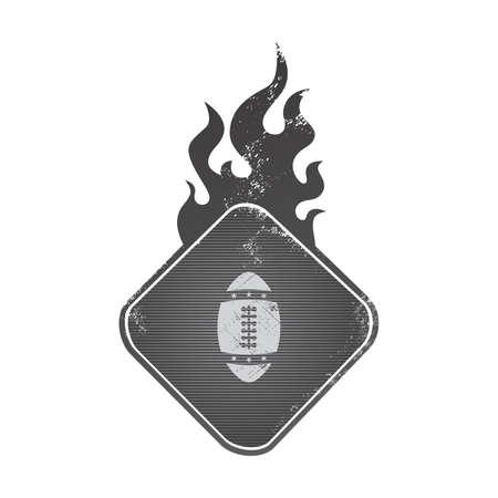football fire Vector