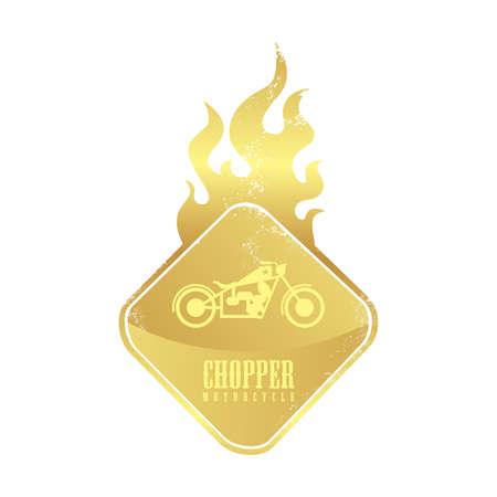 chopper fire button Vector