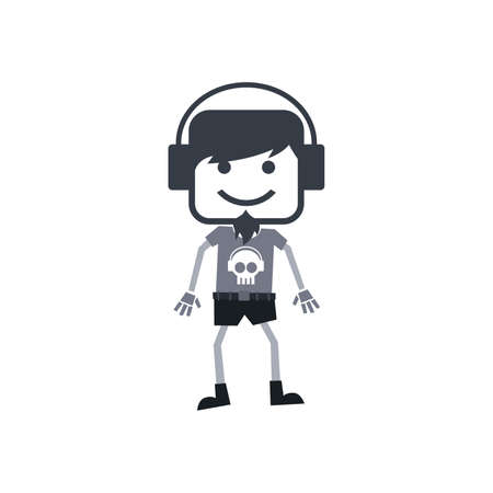 disk jockey: disk jockey man