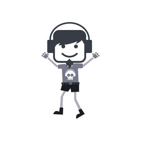 disk jockey: disk jockey guy