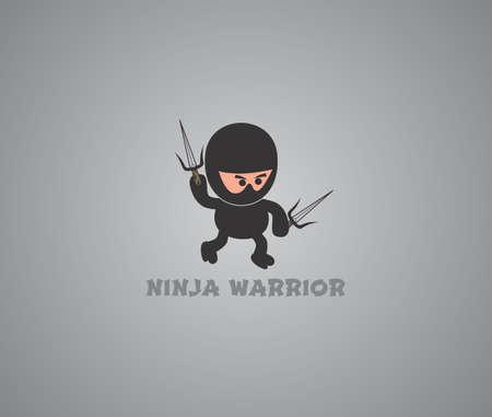 cool ninja Illustration