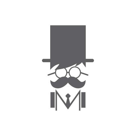 mustache icon guy Stock Vector - 23540092