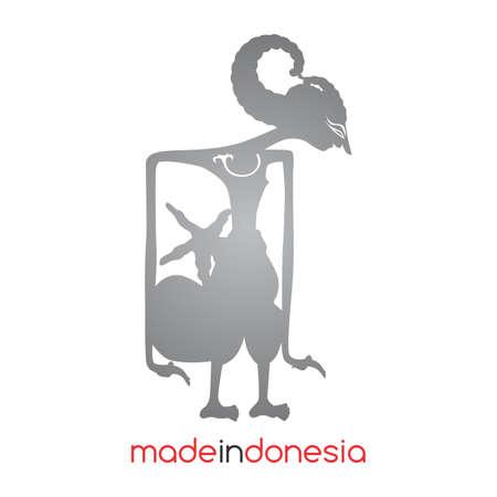 インドネシアのワヤン人形