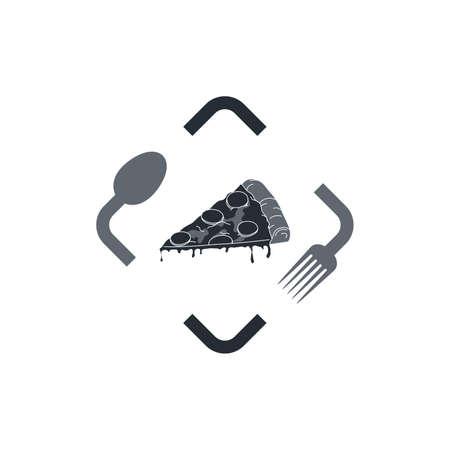 food capture sign Illustration