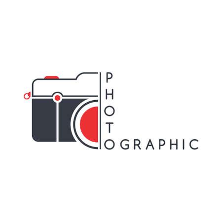 photography camera art Stock Illustratie