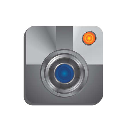 lens interface media Vector