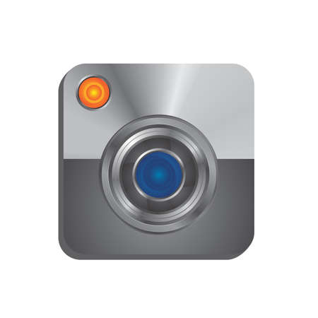 camera interface icon Vector