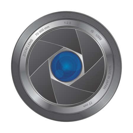 lensa icon art Vector
