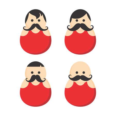 fat guy mustache avatar