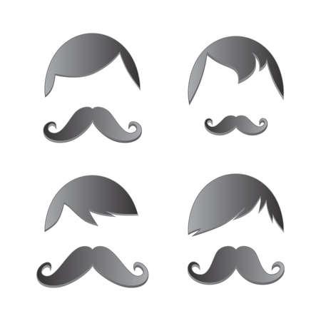 whiskers mustache art Illustration