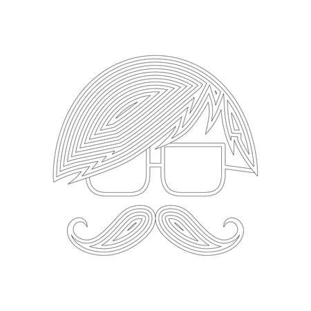 bigodes: bigodes arte de prata