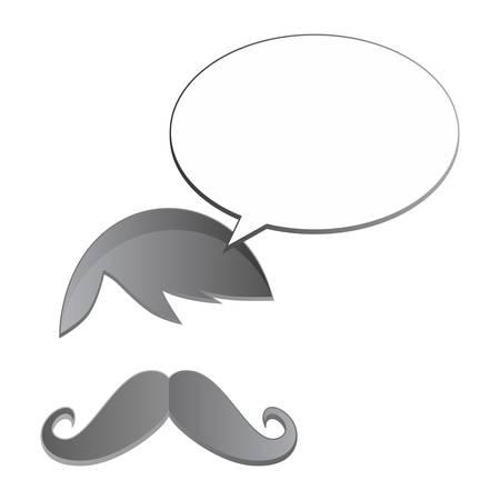 avatar whiskers bubble Illustration