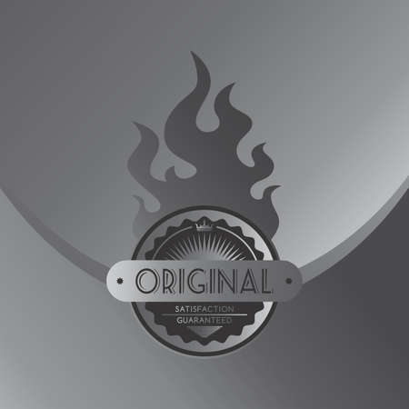 quality product: silver quality product label