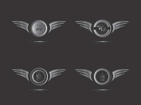 silver wing art set