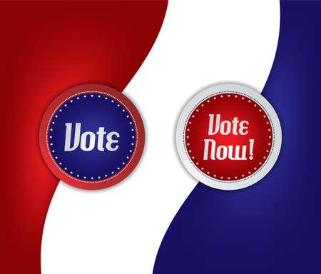 vote label: election vote label