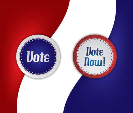 vote label: vote election label
