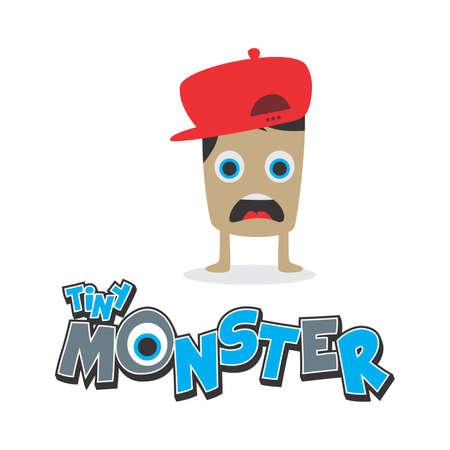 little monster Illustration