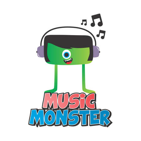monster music Vector