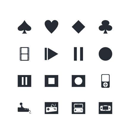 rec: button icon set