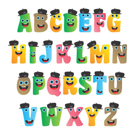 goofy: monster alphabet set