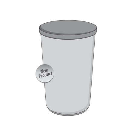 packaging container Vector