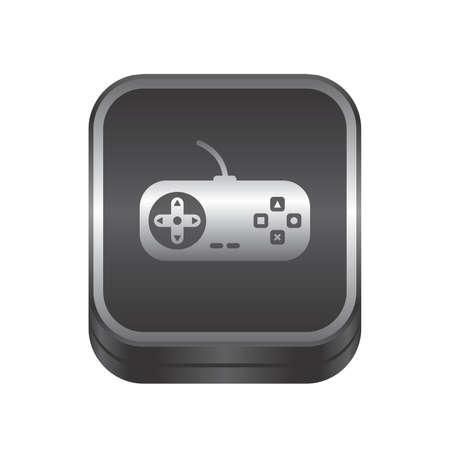 multimedia pictogram: game console button art