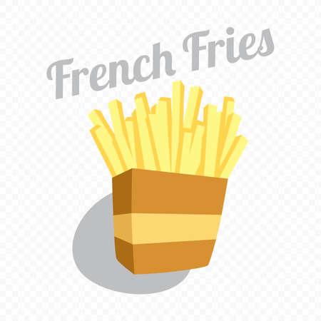 food and drink theme cartoon illustration Vector