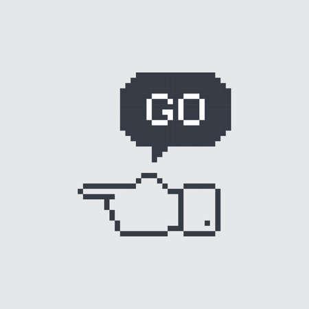caller: pixel art