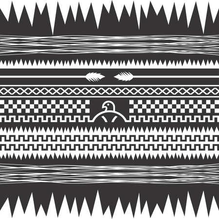 native america art pattern Vector