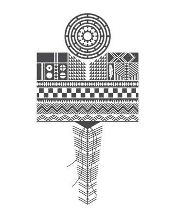 native american art Illustration