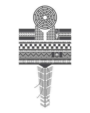 indian ink: native america art pattern