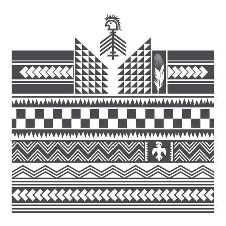 native american art Stock Illustratie