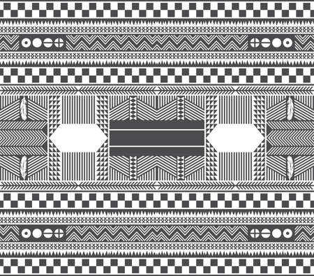 native america art pattern Vector