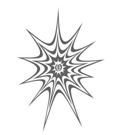 spider web splash art vector Vector