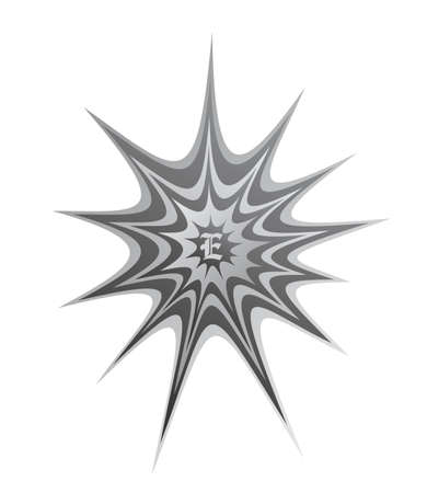 spider web splash art vector Vector