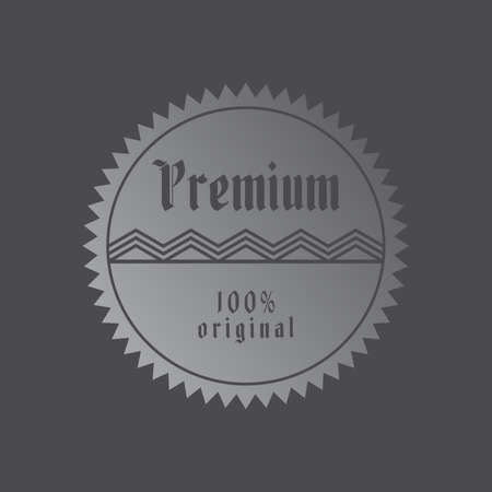 sticker label Vector