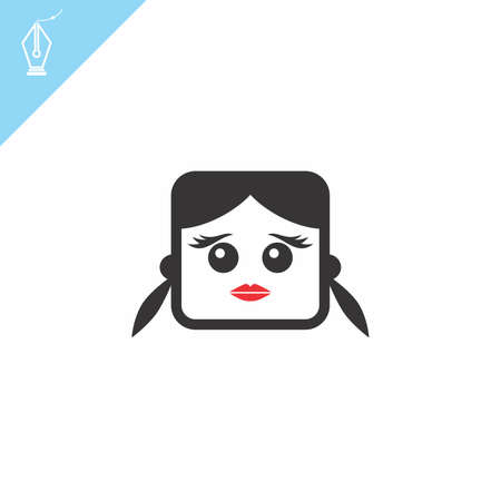 avatar portrait picture icon Stock Vector - 28009209