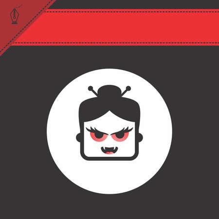 avatar portrait picture icon Stock Vector - 28009220