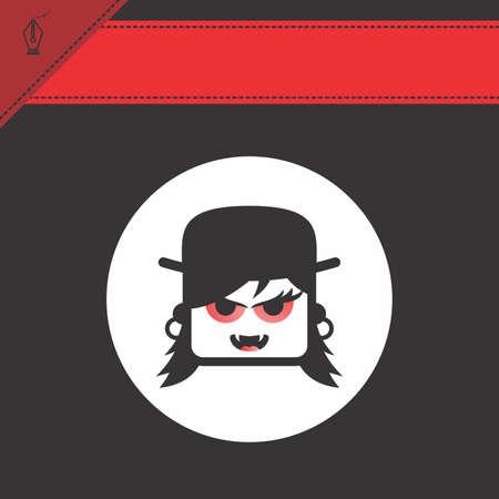 avatar portrait picture icon Stock Vector - 28009221