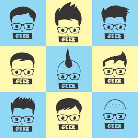 geek: geek cartoon
